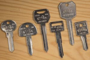 Image of motorcycle keys