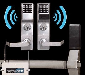 Image of a wireless remote lock